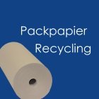 Packpapier Recyling
